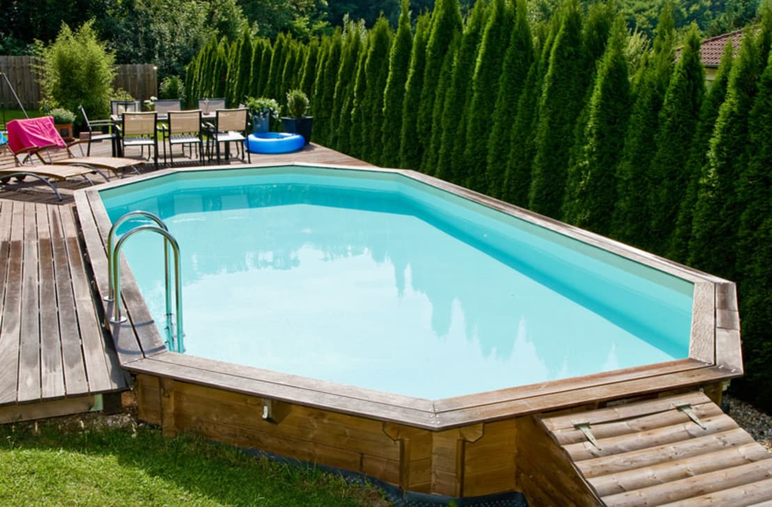 Oogarden: Moderne Holzpools Für Ihren Garten   Homify intérieur Piscine Oogarden