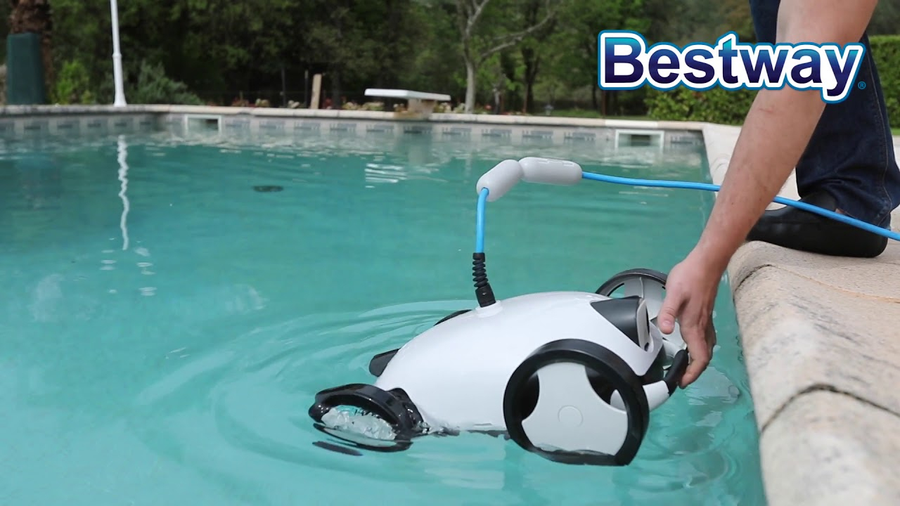 Oogarden - Robot Électrique Piscine Falcon - Bestway destiné Piscine Oogarden