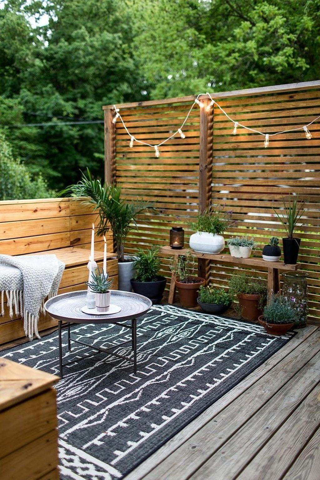 Outdoor Benches   Deco Terrasse, Patio Extérieur ... concernant Petite Table De Salon De Jardin