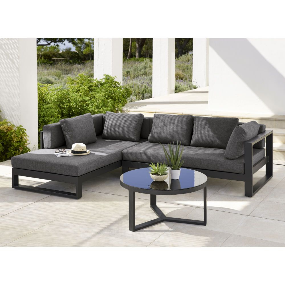 Outdoor Furniture In 2020 | Aluminium Garden Furniture ... concernant Salon De Jardin En Aluminium