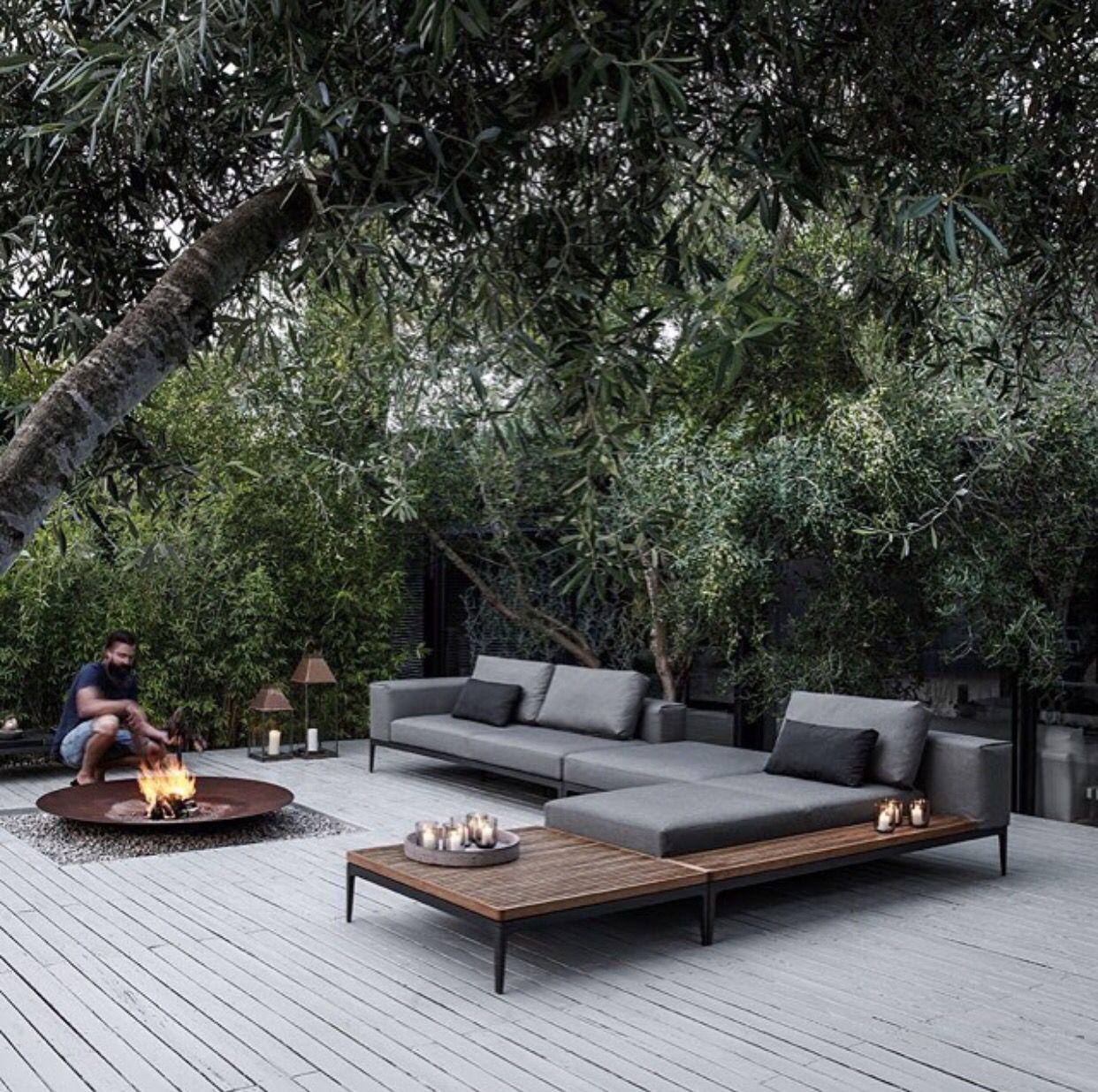 Outdoor | Mobilier Jardin, Mobilier De Jardin Contemporain ... intérieur Mobilier De Jardin Moderne