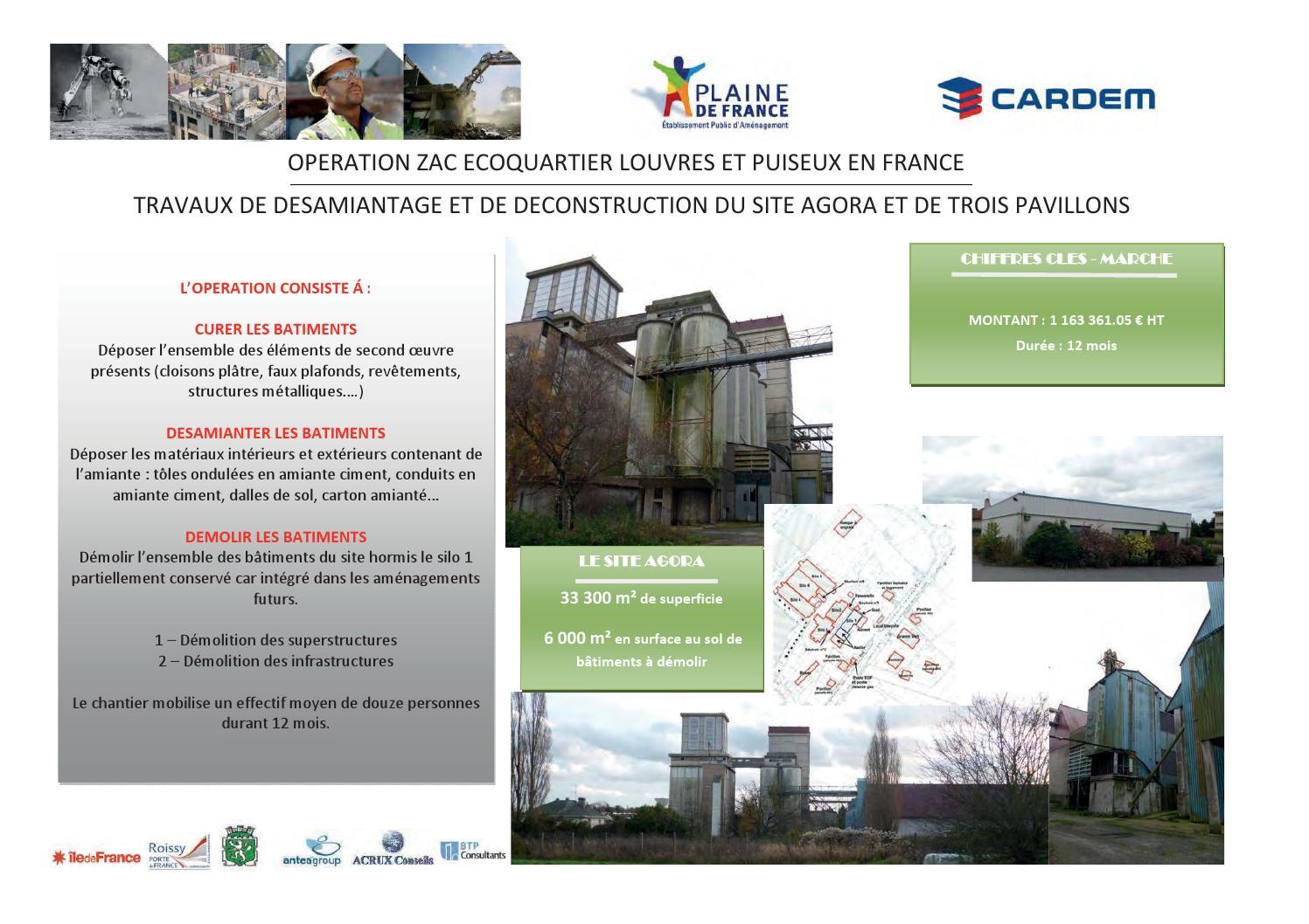Panneaux Explicatifs Chantier Demolition By Marion Dache - Issuu destiné Echafaudage Gamm Vert