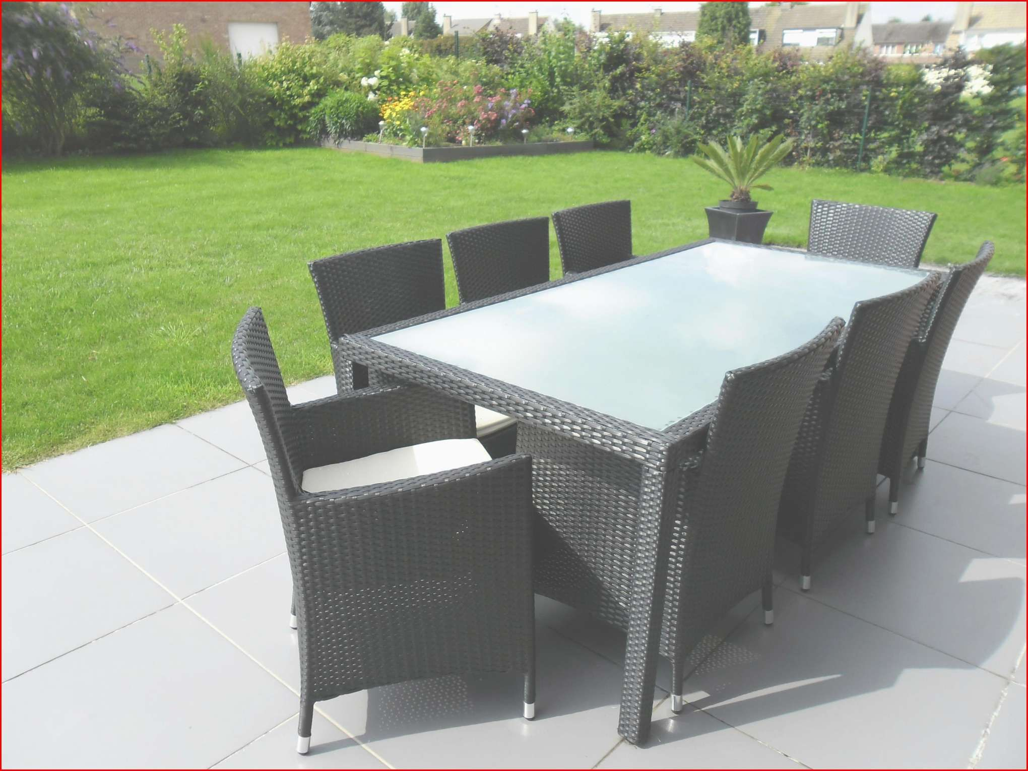 Pin On Home Design Ideas dedans Table De Jardin Resine