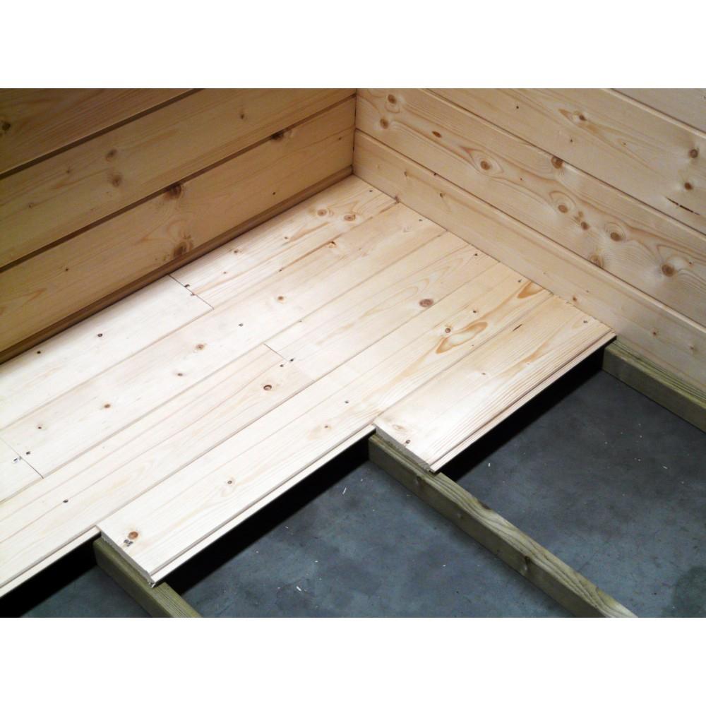 Plancher Solid + Lambourdes Pour Abri Superia Maximum 5M² concernant Plancher Abri De Jardin