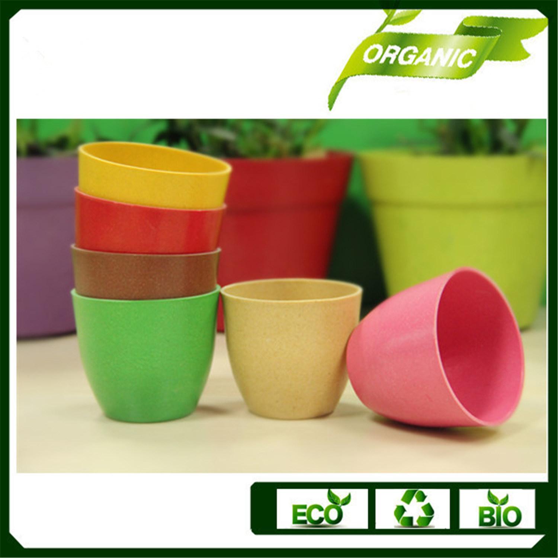 Plante De Jardin En Bambou Biodégradable Pot Pot Pot De ... concernant Pot Couleur Jardin