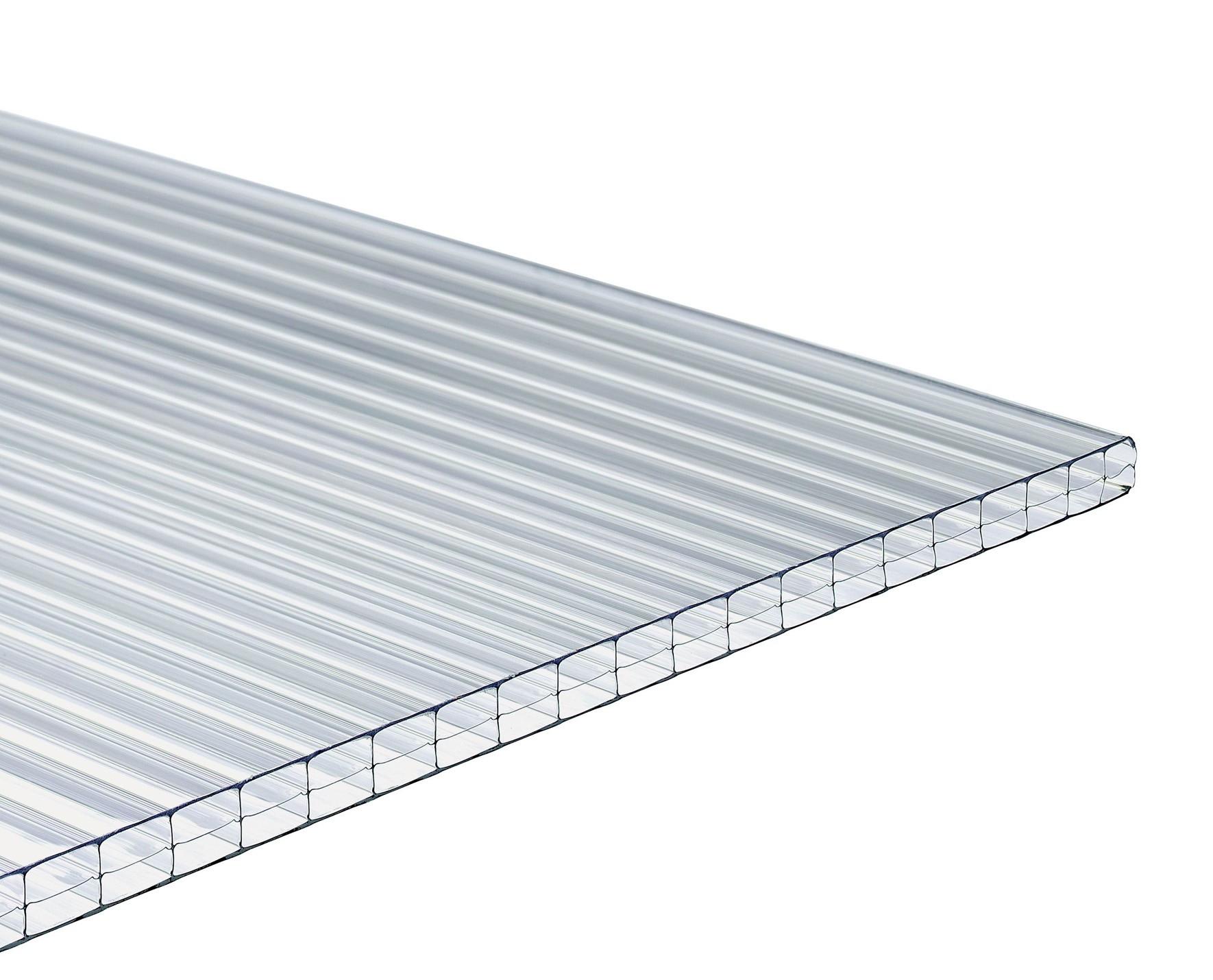 Plaque Polycarbonate Lumisol 400X98Cm 16Mm Eco tout Tole Polycarbonate