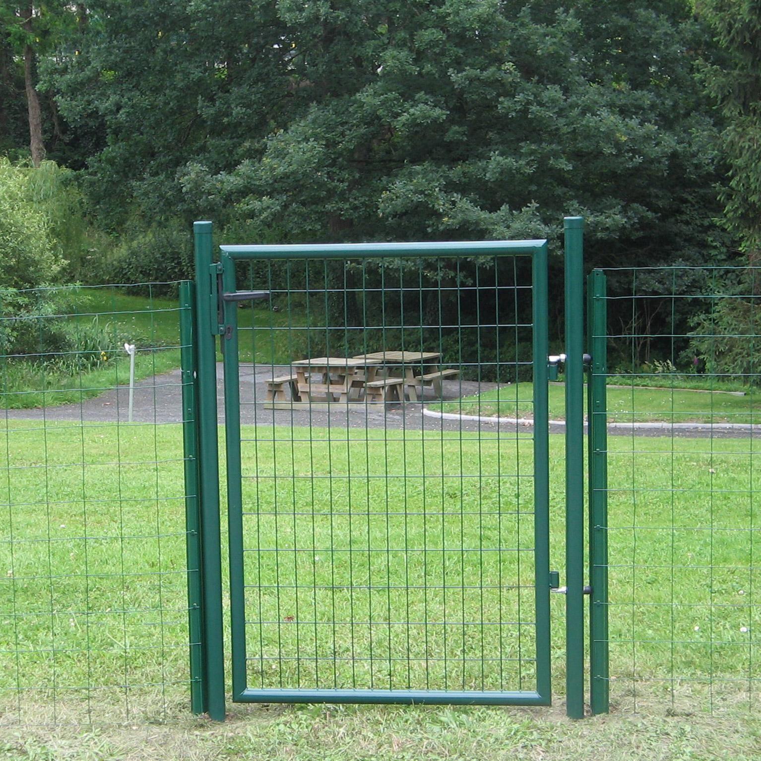 Portillon Grillagé Eco Garden L.100 X H.150 Cm, Vert Dirickx ... destiné Portillon Jardin Leroy Merlin