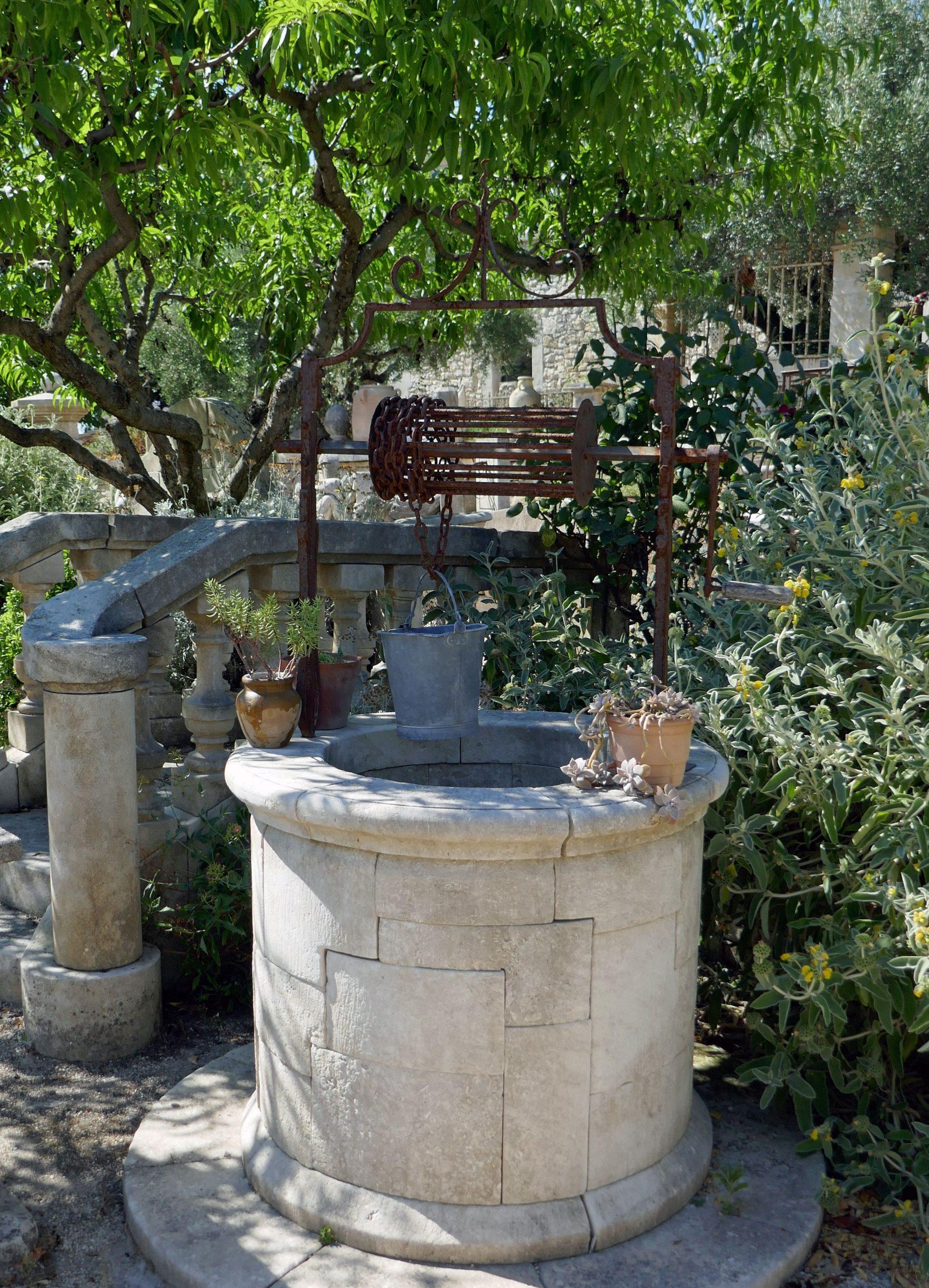 Pour La Décoration Du Jardin, Pourquoi Ne Pas Opter Pour Un ... pour Puit De Jardin
