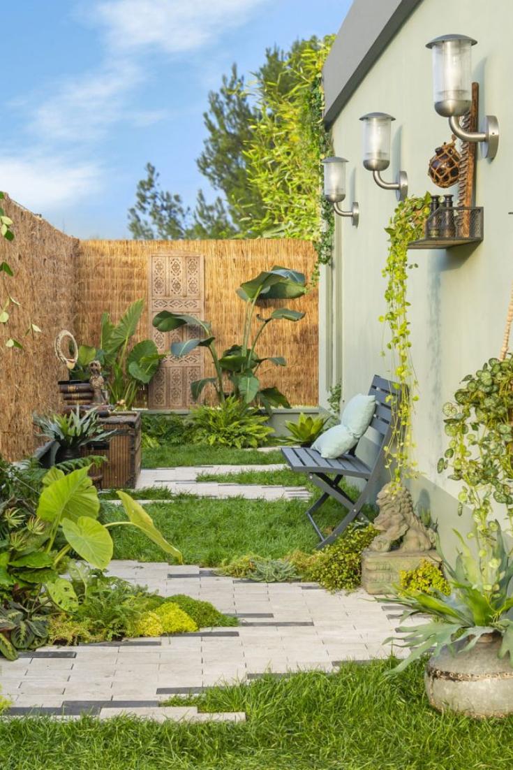 Quel Matériau Choisir Pour Obtenir Des Allées De Jardin ... avec Claustra Pour Jardin