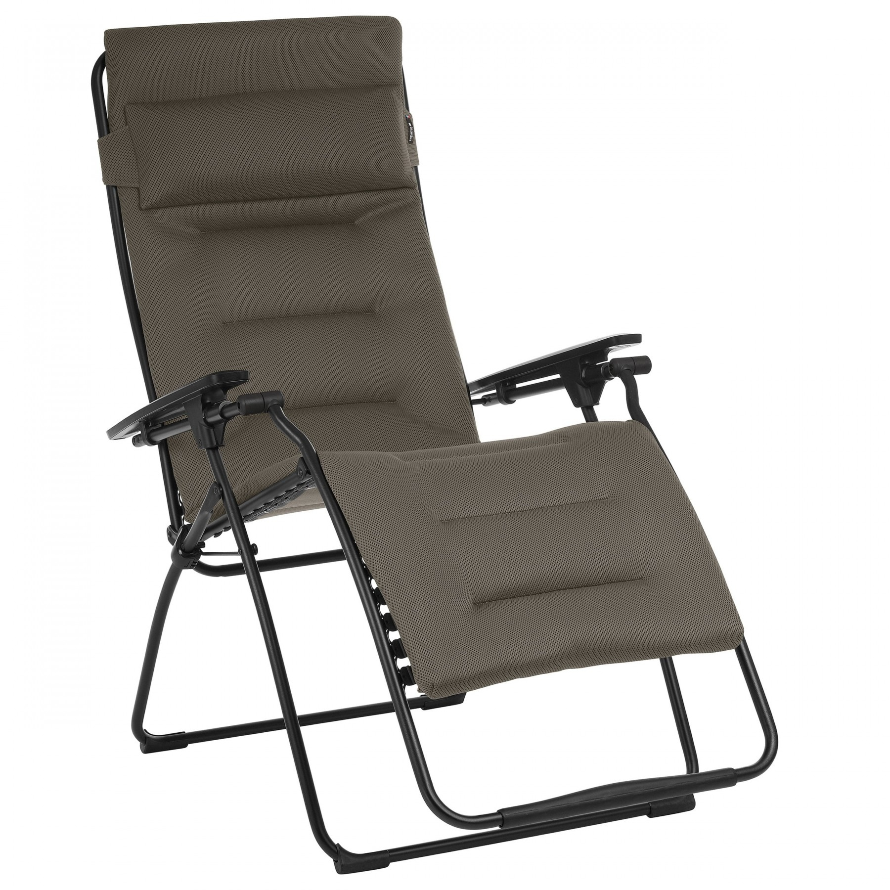 Relaxation Chair Xl Futura Air Comfort Taupe | Lafuma Mobilier concernant Relax Lafuma