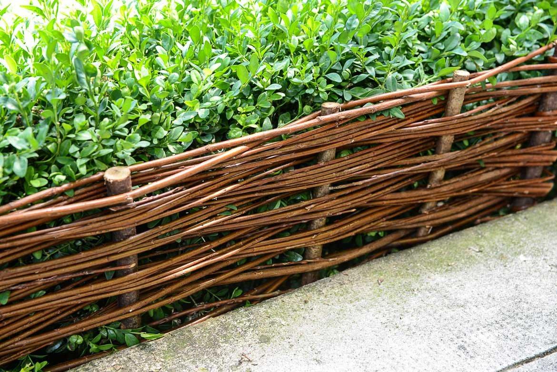Repensez L'aménagement De Votre Jardin | Schilliger tout Bordure Osier