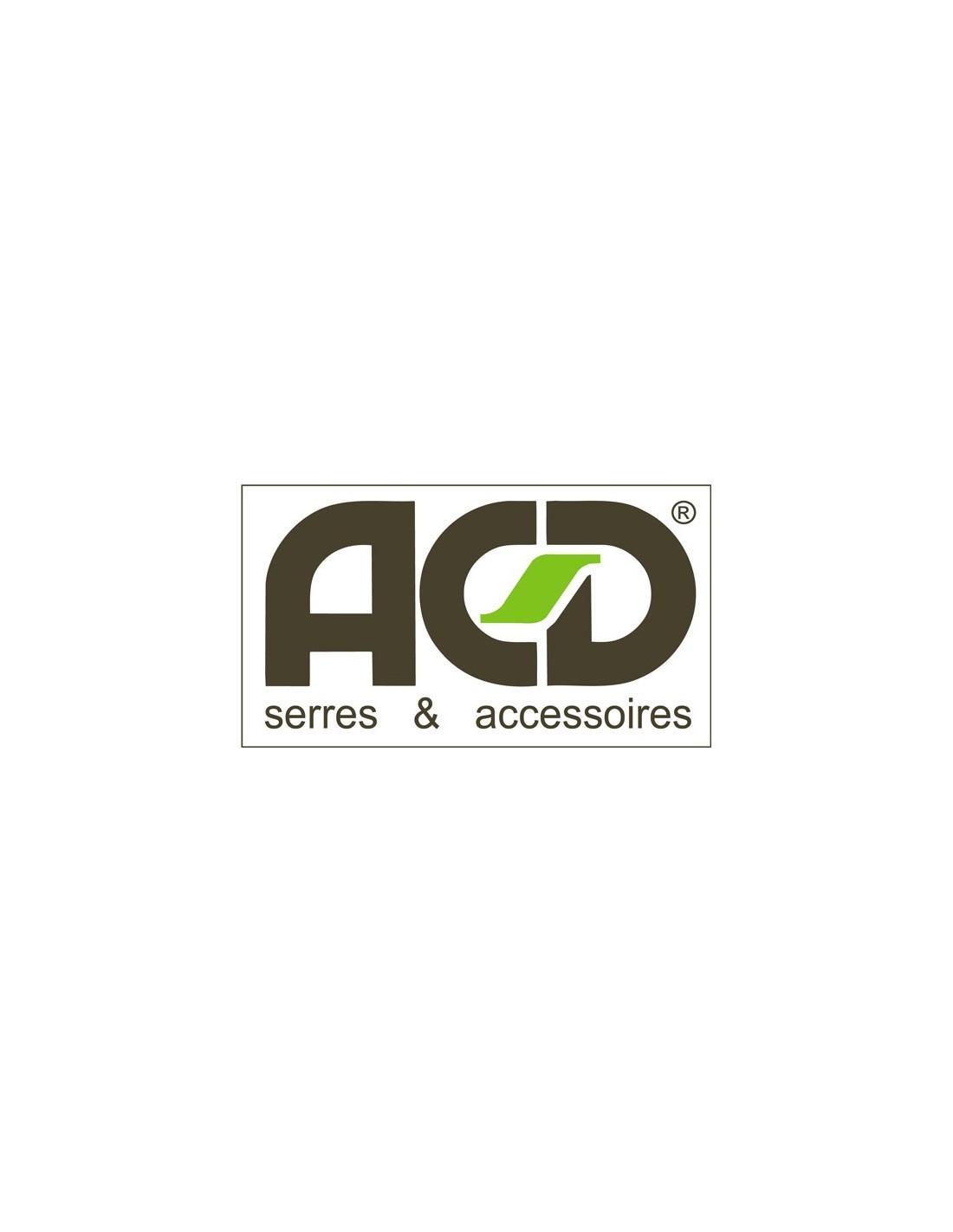 Rouleau De Caoutchouc Pour Serre Acd - Serres-Et-Abris avec Joint Epdm Caoutchouc Pour Serre De Jardin Acd