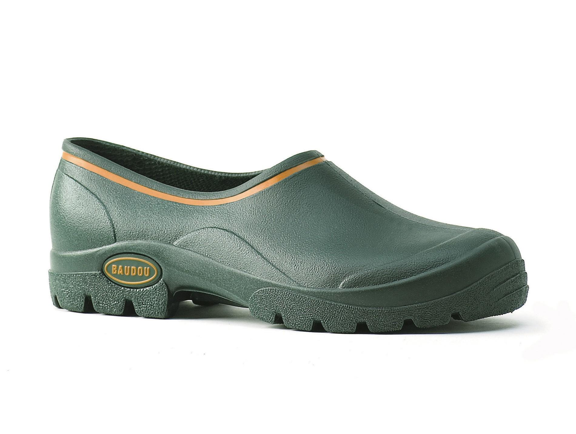 Sabots De Jardin Baudou Cork Vert - Chaussures De Travail ... serapportantà Chaussure Jardin