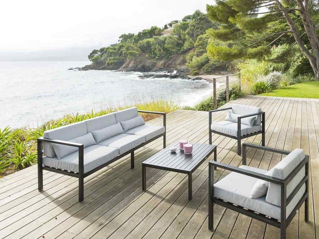 Salon De Jardin Aluminium Soldes - The Best Undercut Ponytail avec Table Jardin Jardiland