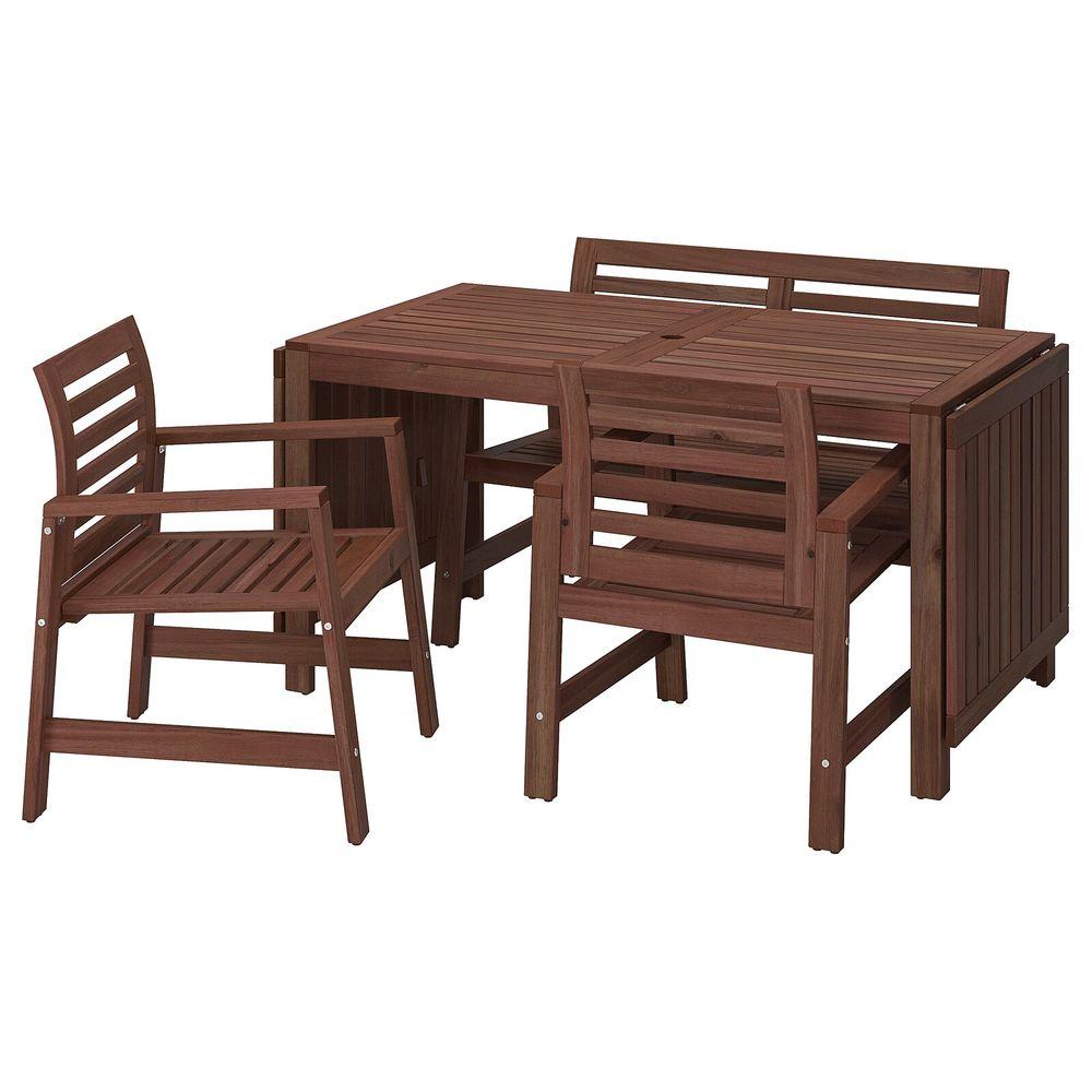 Salon De Jardin Ikea Appläro 6 Places encequiconcerne Table Jardin Ikea Occasion