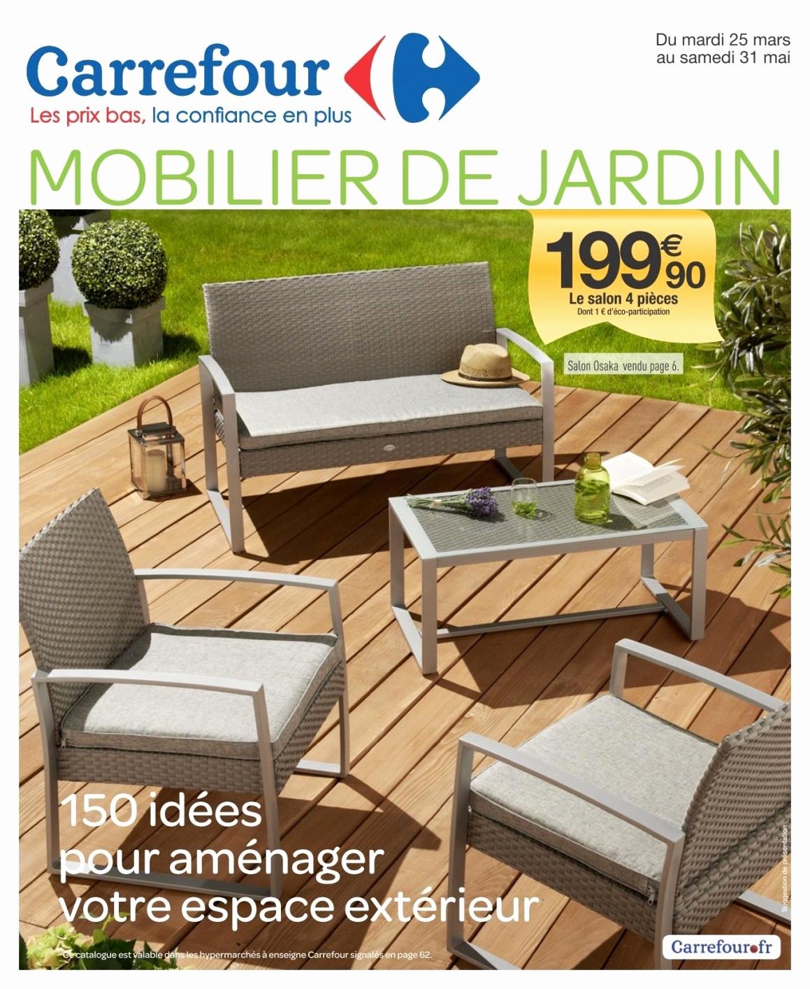 Salon De Jardin Intermarche 2018 Luxe Inspirational ... destiné Table De Jardin Intermarché 2019
