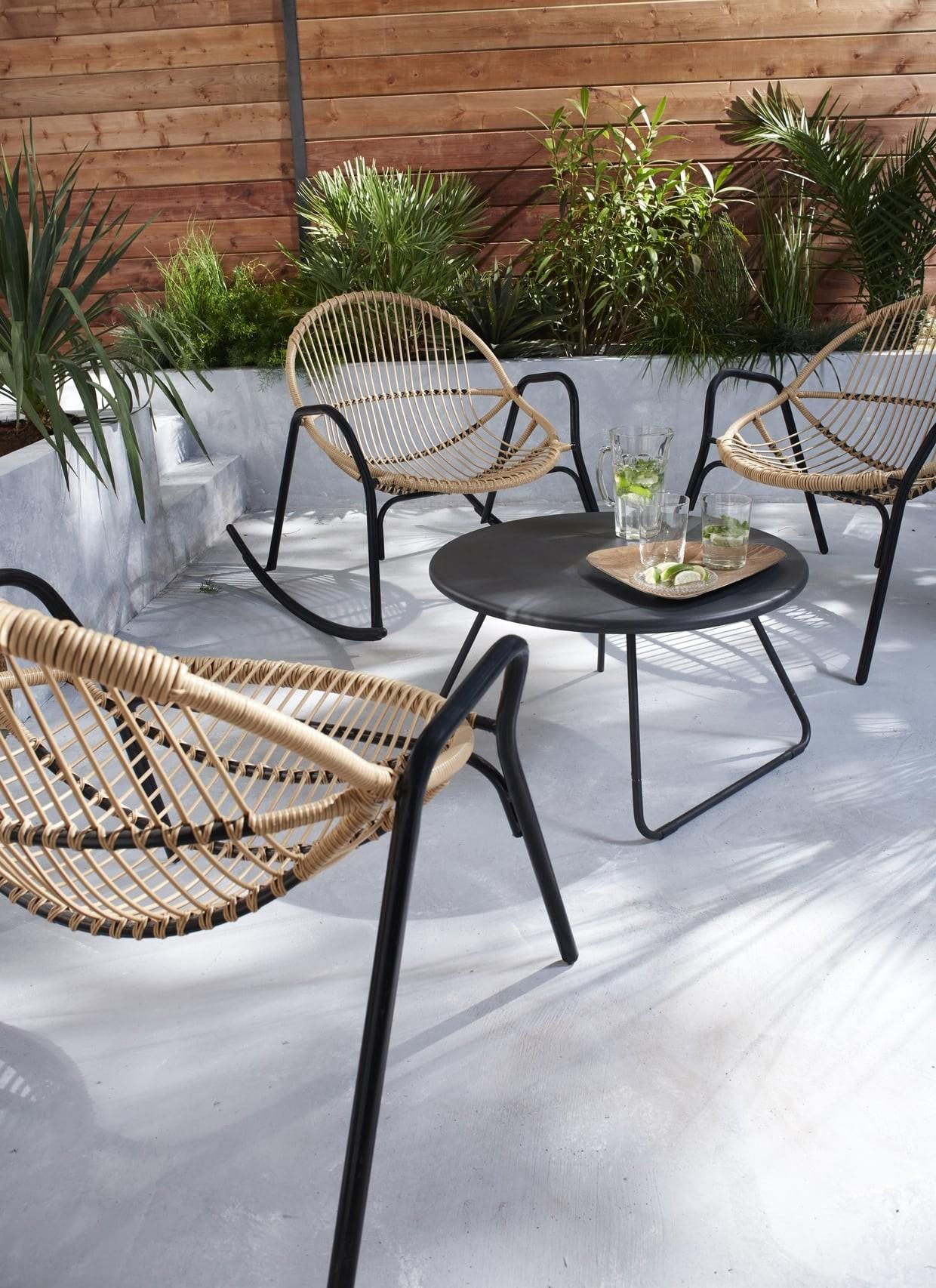 Salon De Jardin Kiwi Castorama - The Best Undercut Ponytail dedans Table De Jardin Castorama