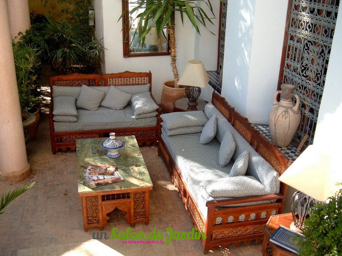 Salon De Jardin Marocain - pour Salon De Jardin Marocain