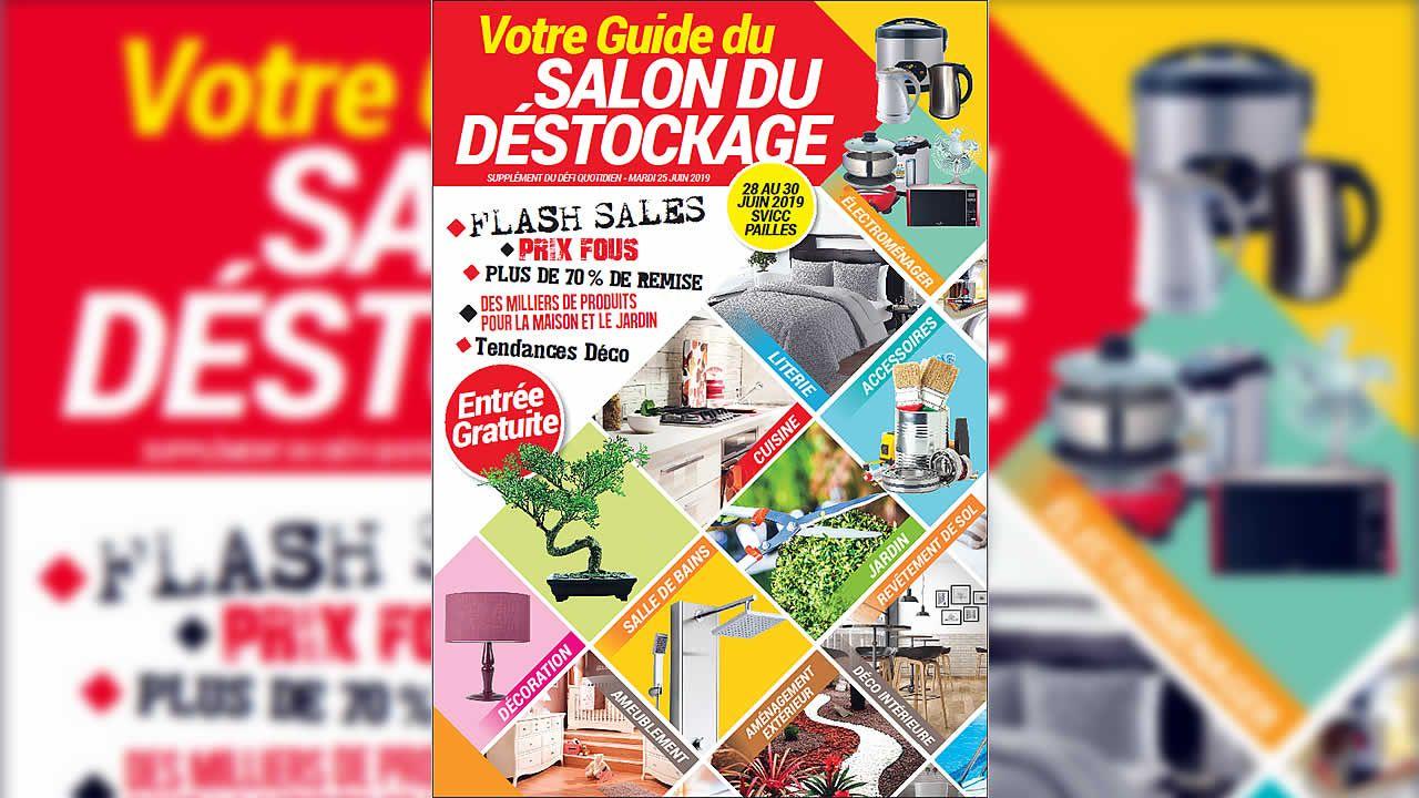 Salon Du Déstockage : Entrée Gratuite Pour Profiter D'offres ... serapportantà Destockage Salon