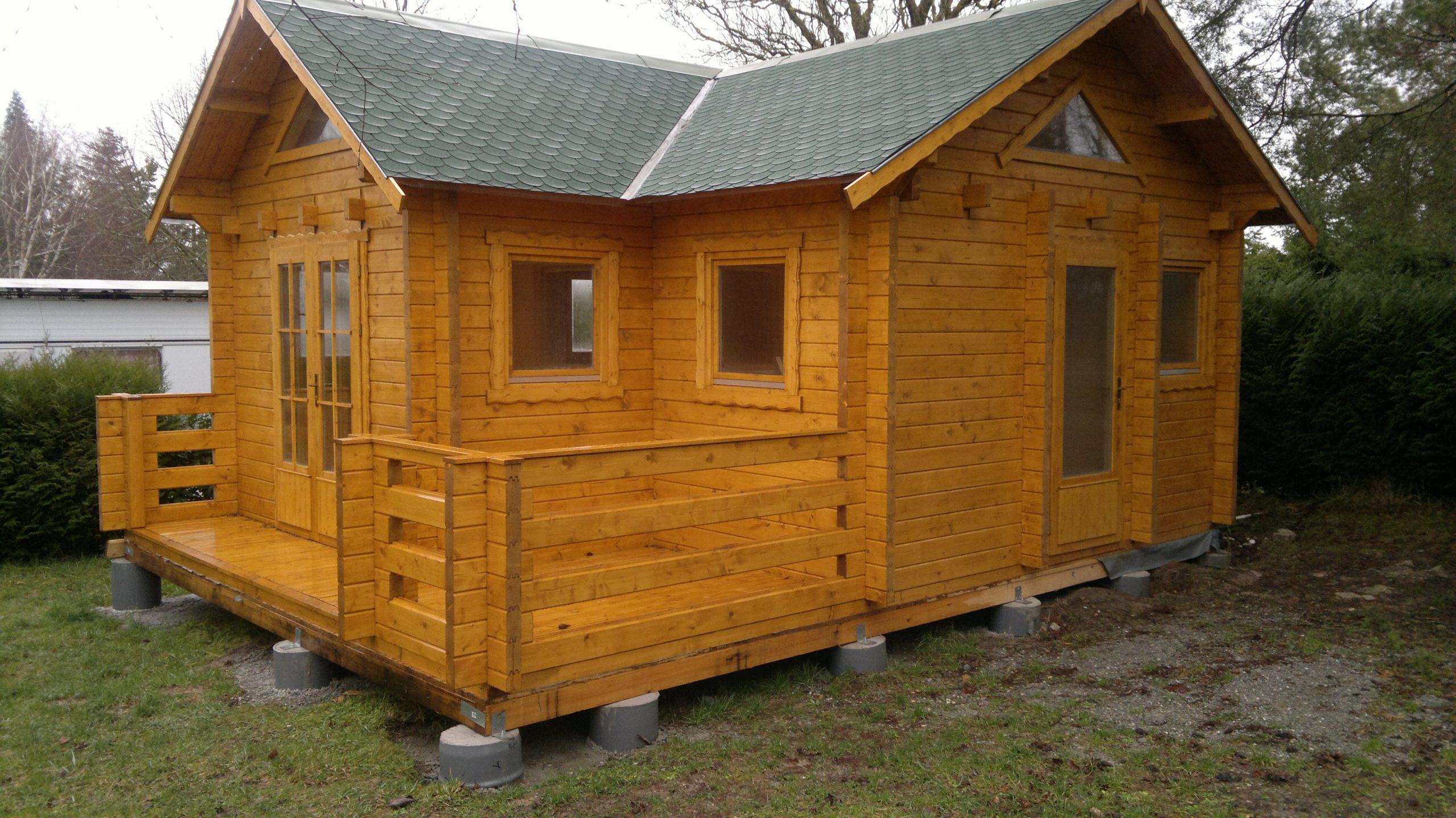 Schweden - Skan ® Votre Maison En Bois encequiconcerne Chalet Bois Kit Habitable Pas Cher