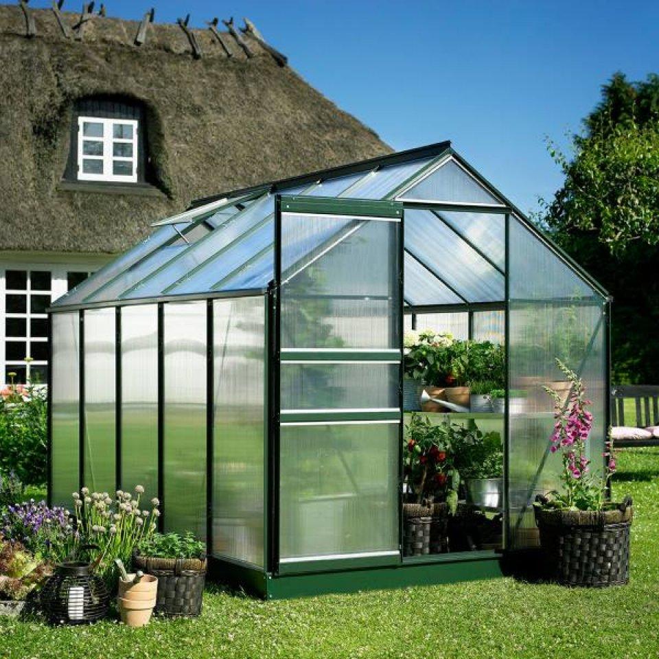 Serre De Jardin Pas Cher - Petite Surface 5M2 - Popular 86 destiné Serre Polycarbonate 5M2