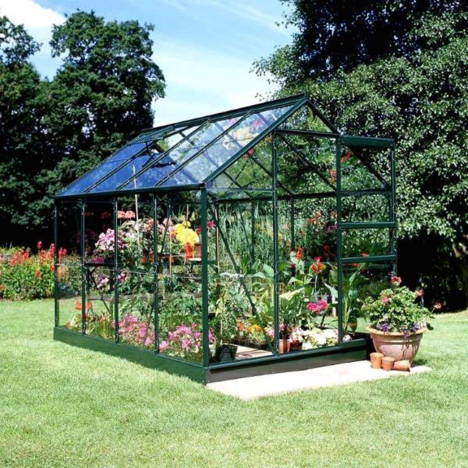 Serre De Jardin Pas Cher - Petite Surface 5M2 - Popular 86 pour Serre Polycarbonate 5M2