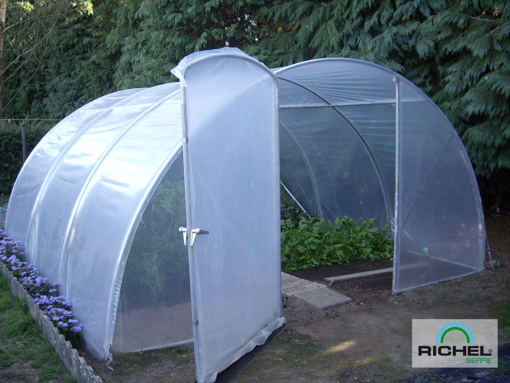 Serre De Jardin Richel 20.25M² Avec Porte | Serre Jardin ... concernant Serre De Jardin 9M2