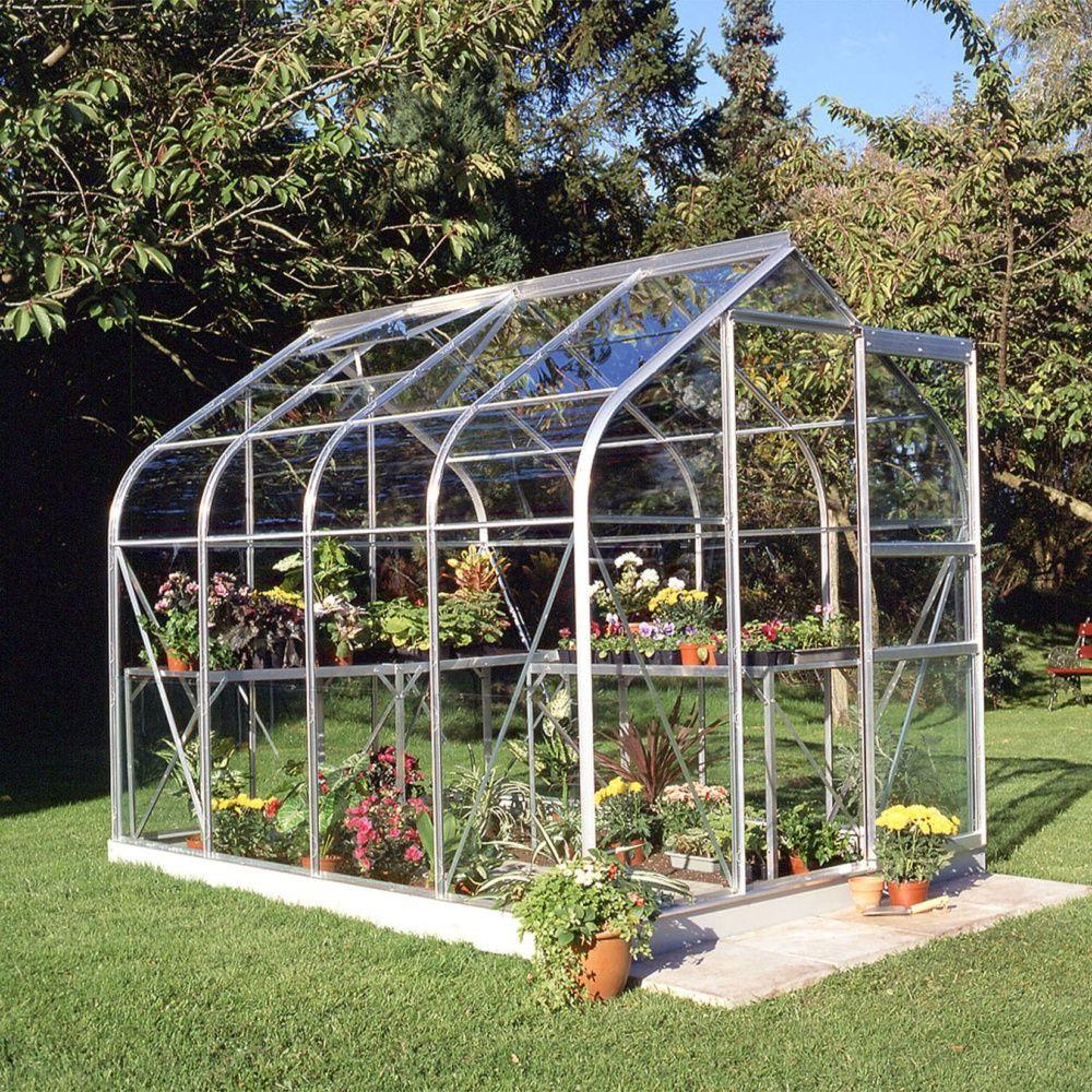 Serre De Jardin Supreme Verre Horticole 5 M² - Halls serapportantà Serre Polycarbonate 5M2