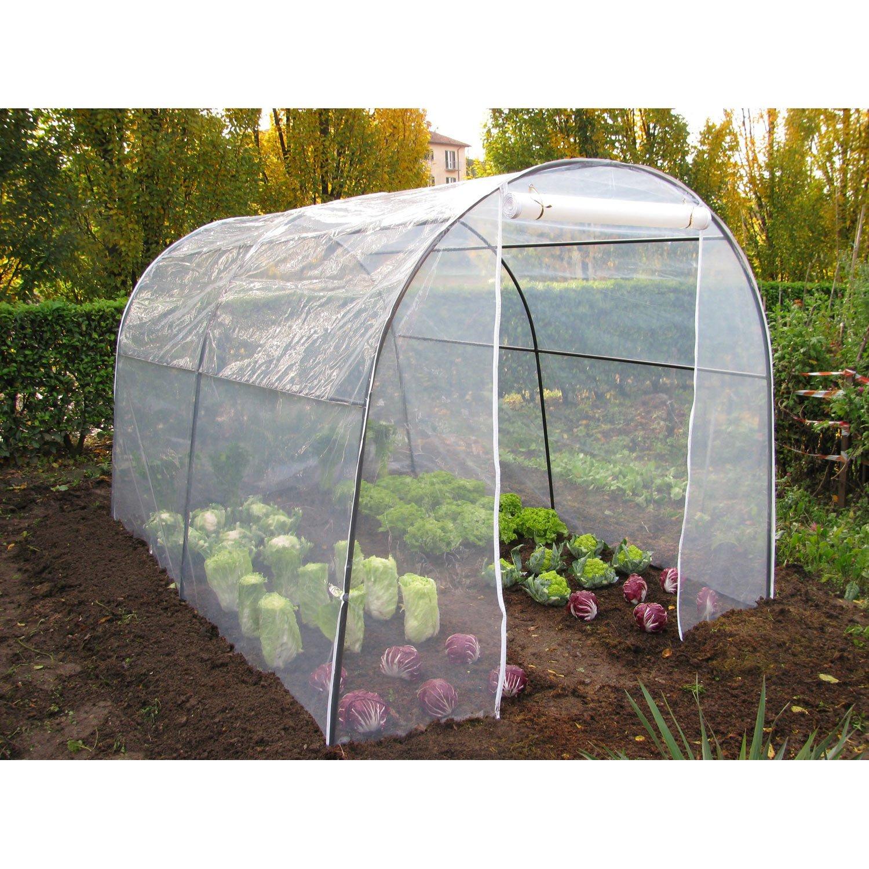 Serre Gifi - Veranda Et Abri Jardin pour Serre Rigide Jardin