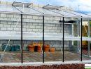 Serre Jardin Adossée, Murale, En Verre Trempé, Aluminium 3.80M, Euro-Serre,  Achat concernant Serre Polycarbonate Pas Cher