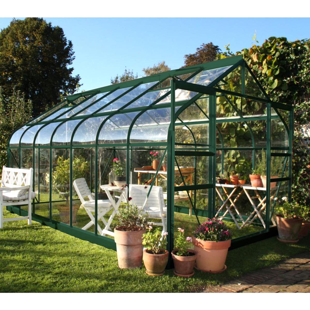 Serre Jardin D'occasion | Plus Que 2 À -65% avec Serre Rigide Jardin