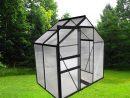 Serre Polycarbonate Anthracite 2.30 M² - Châlet-Jardin pour Serre Polycarbonate Pas Cher