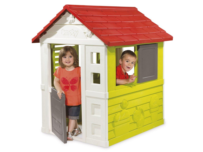 Smoby Cabane De Jardin Pour Enfants destiné Maisonnette De Jardin Enfant