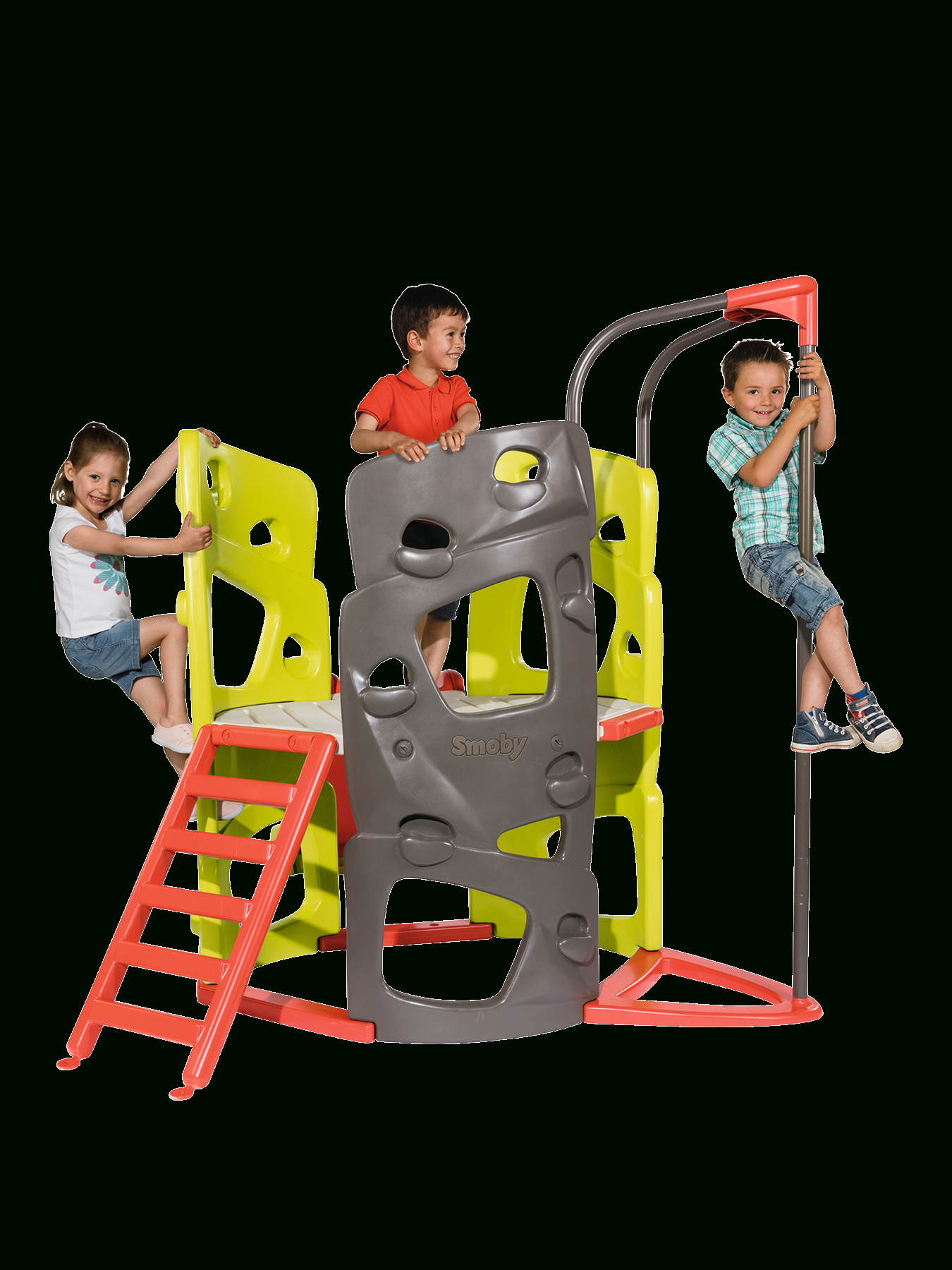 Smoby Climbing Tower In One Colour | Climbing, Tower, Frames ... à Toboggan Smoby