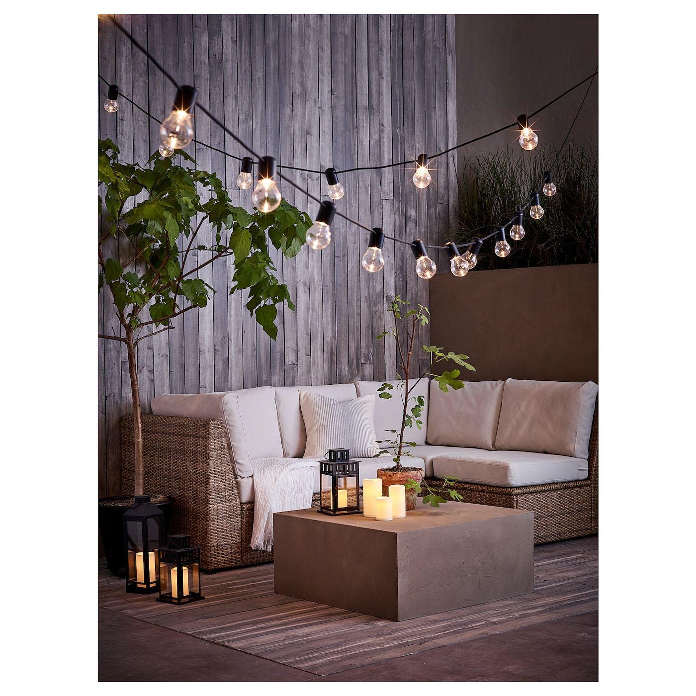 Sollerön Modular Corner Sofa 3-Seat, Outdoor - Brown, Frösön ... serapportantà Salon Jardin Ikea