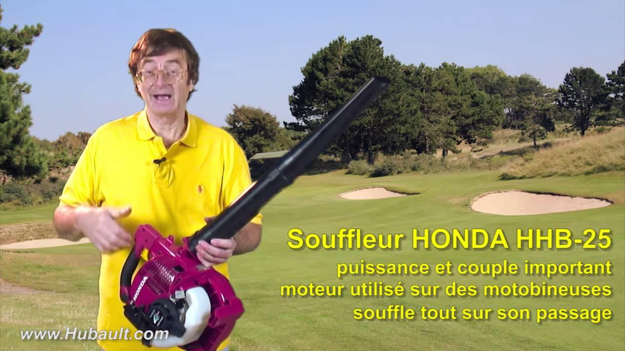 Souffleur Honda Hhb 25 - Hubault Jardin avec Souffleur De Jardin