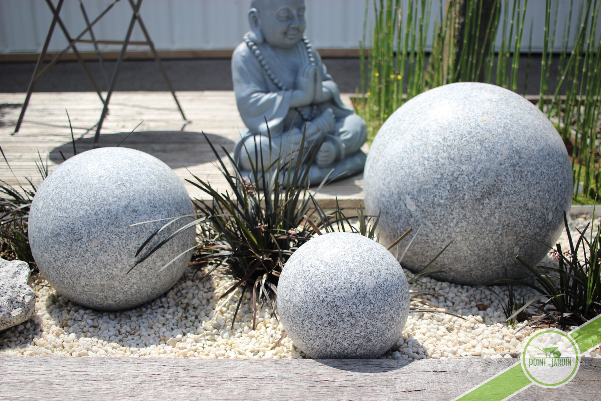 Sphère Granit 20Cm intérieur Boule Decorative Jardin
