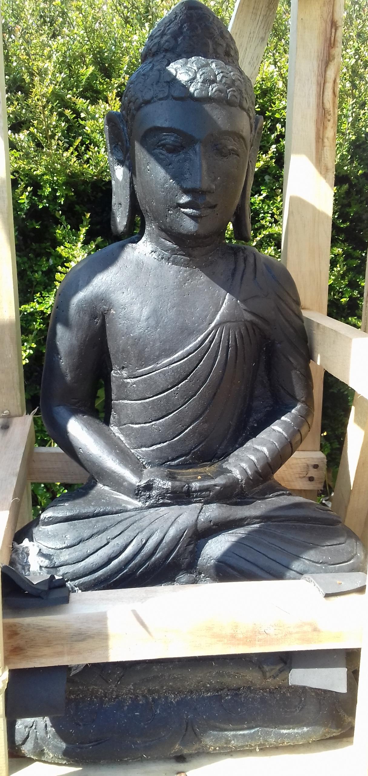 Statue Bouddha Extérieur Pas Cher - Vente Décorations ... pour Bouddha De Jardin Pas Cher