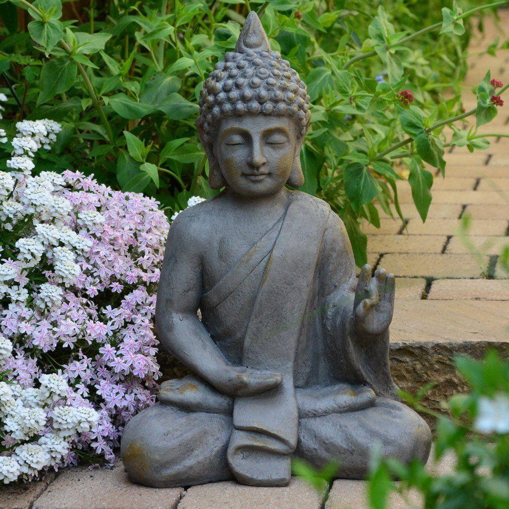 Statuette De Bouddha De 54Cm Décoration Zen Pour Intérieur ... tout Bouddha Deco Jardin