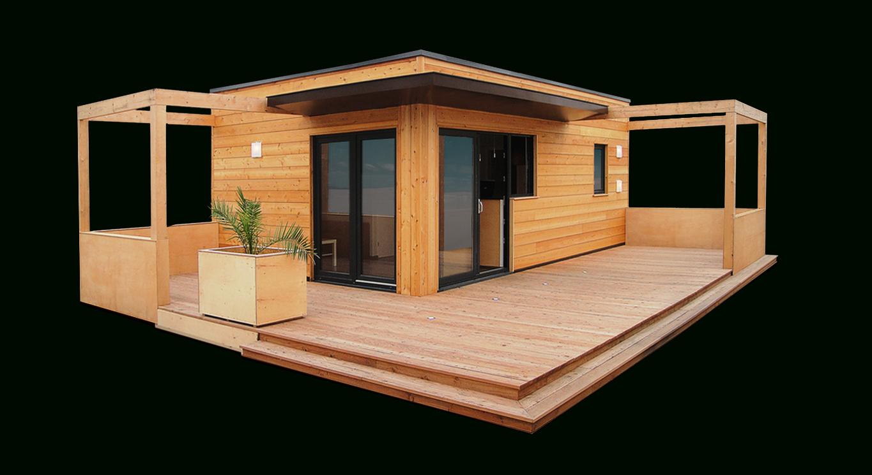 Studio De Jardin, Bureau De Jardin, Dependance De Maison ... intérieur Maison De Jardin En Bois Habitable