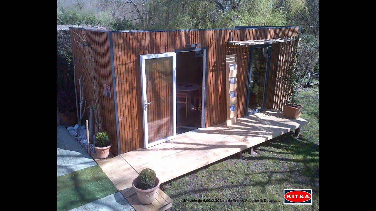 Studio De Jardin Kit&a avec Bureau De Jardin Kit