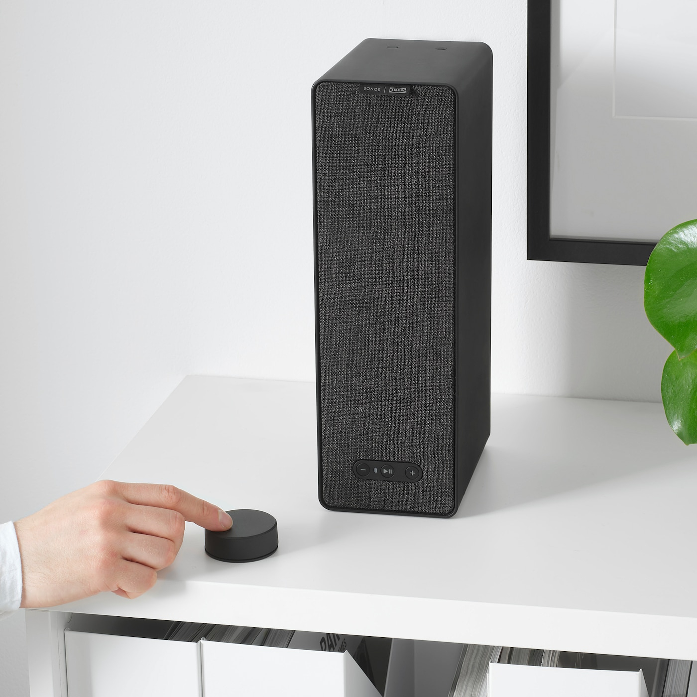 Symfonisk Télécommande Volume - Noir dedans Table Jardin Ikea Occasion