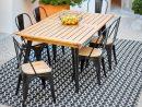 Table De Jardin En 2020 | Table De Jardin Gifi, Chaise Salon ... encequiconcerne Table Jardin Noire