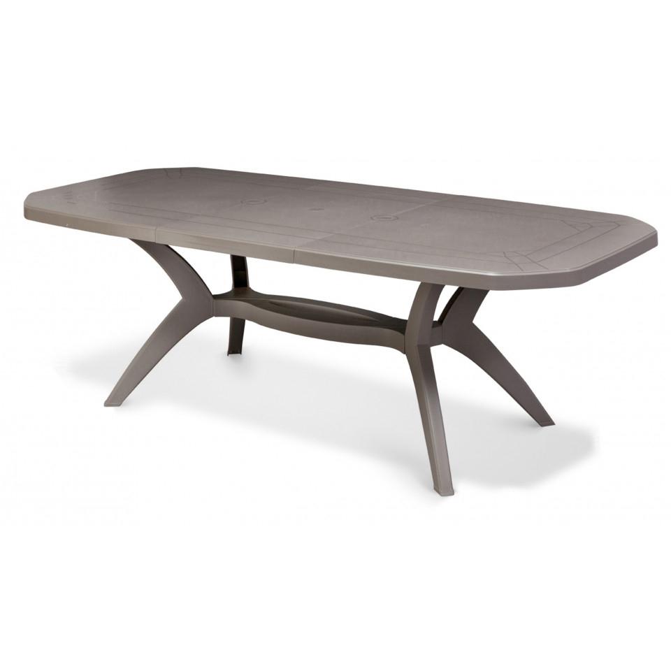 Table De Jardin Ibiza 220 Cm intérieur Table De Jardin Plastique