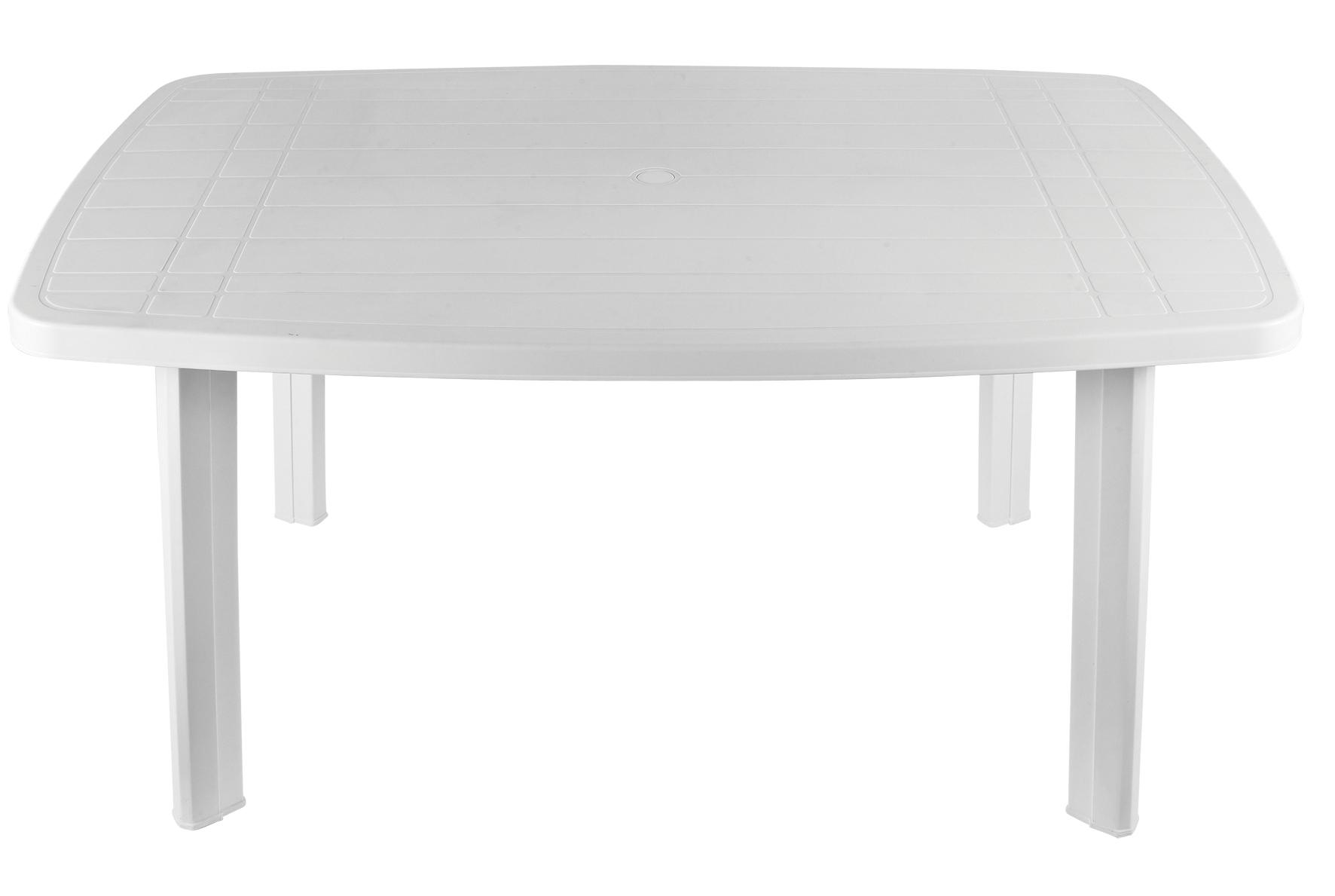 Table De Jardin Pvc Blanc intérieur Table De Jardin Plastique