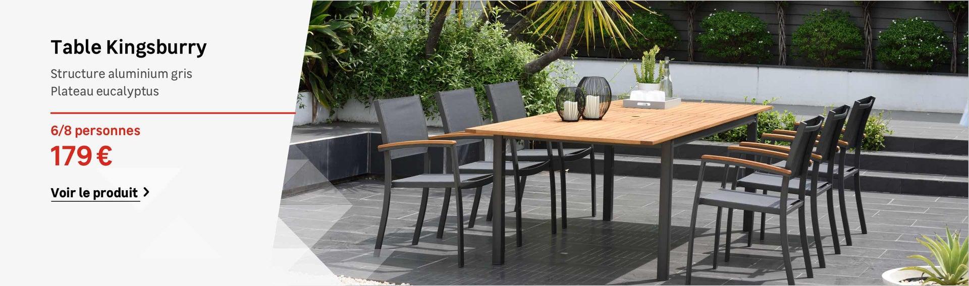 Table Et Chaise De Jardin Aluminium Inspirant Table Et ... tout Salon De Jardin En Aluminium En Solde