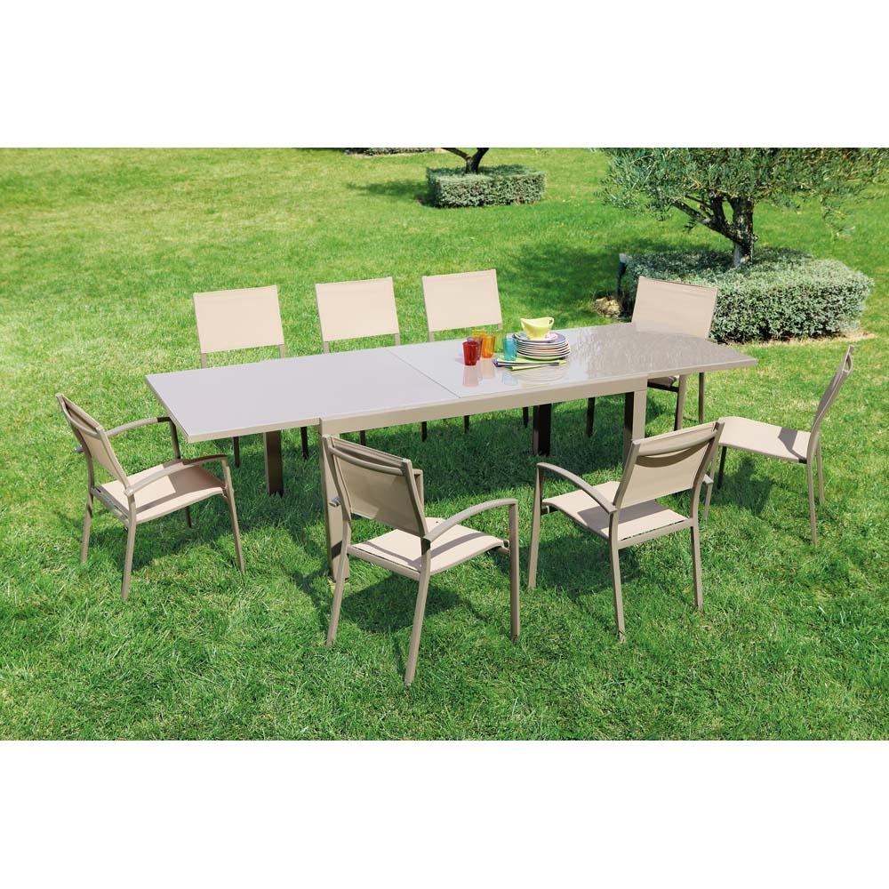 Table Extensible Memphis à Table De Jardin Bricorama