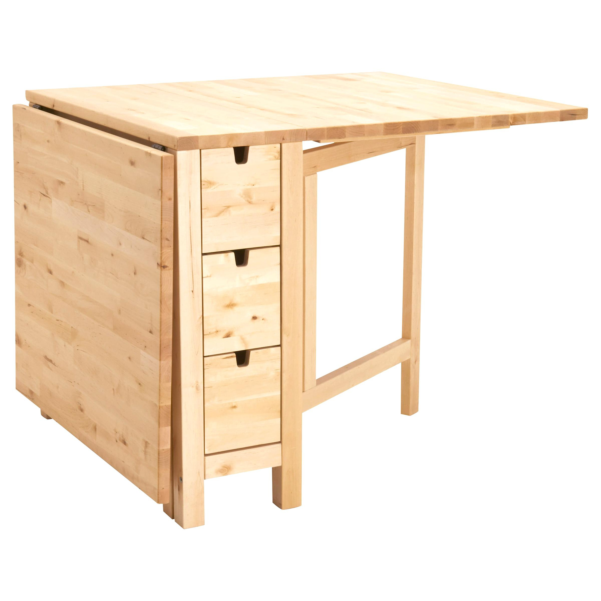 Table Ikea Norden D'occasion | Plus Que 4 À -65% à Table Pliante Ikea