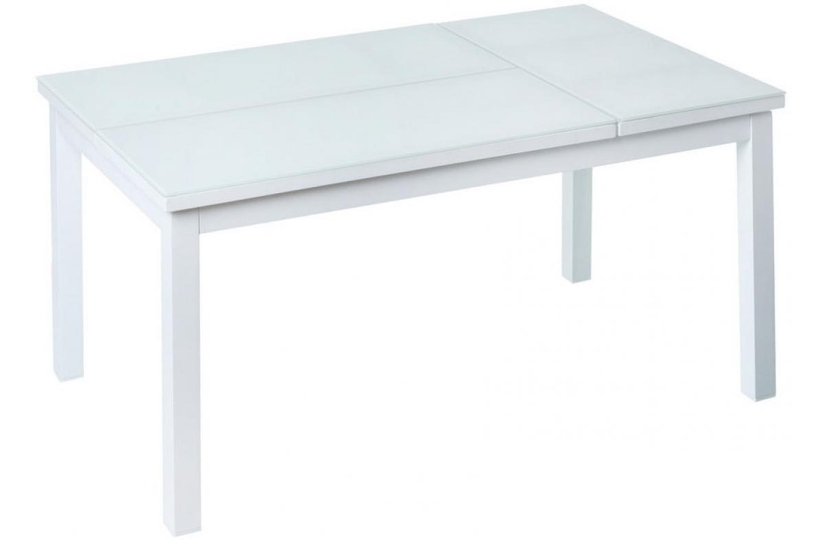 Table Pliante Extérieur Aluminium Blanche Cyril Plus D's avec Table De Jardin Pas Cher