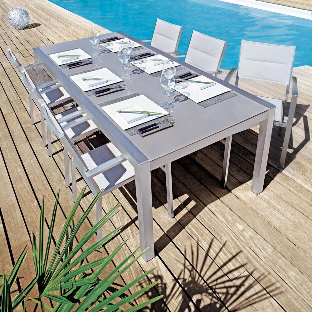 Table Reno destiné Table De Jardin Bricorama